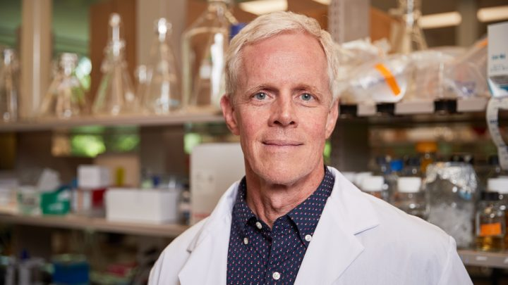 Image of infectious disease researcher Eric Brown